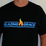 Blazing Grace T-Shirt - Front